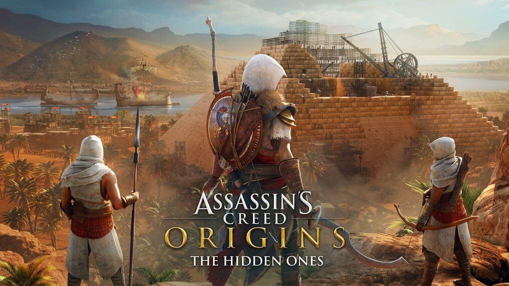 """ASSASSIN'S CREED ORIGINS """"THE HIDDEN ONES"""""""