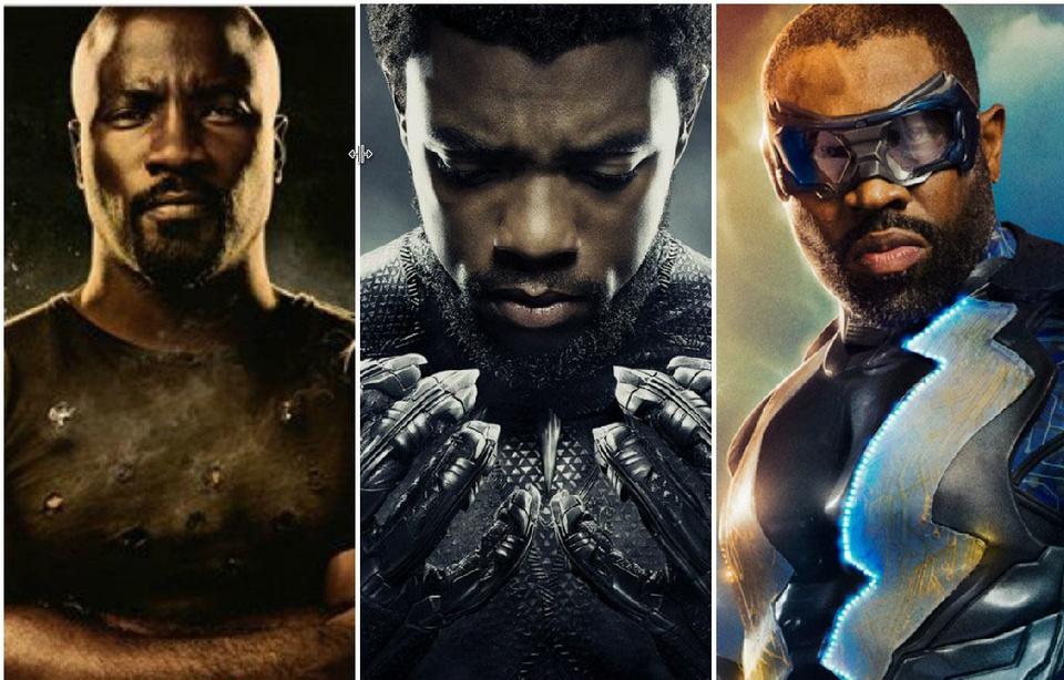 Les super-héros noirs.