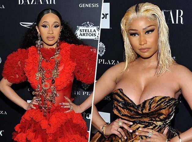 Cardi B vs Nicki Minaj