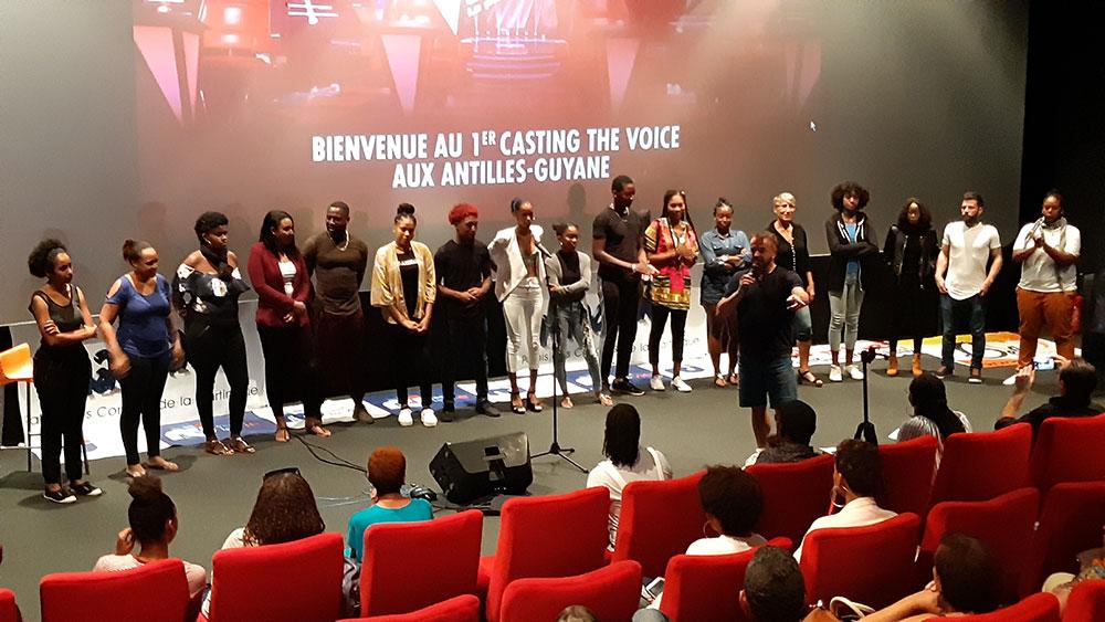 Les derniers castings de The Voice aux Antilles