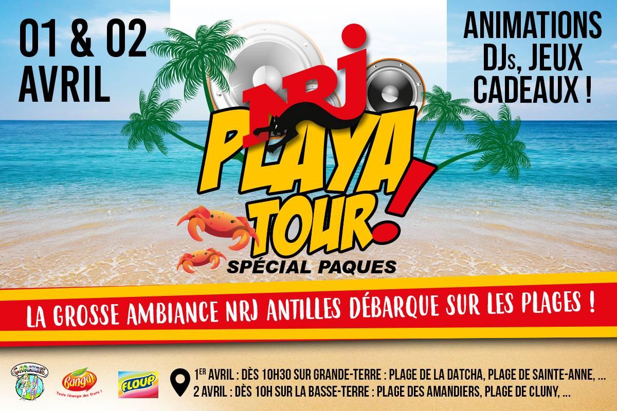 Le NRJ Playa Tour, en Guadeloupe