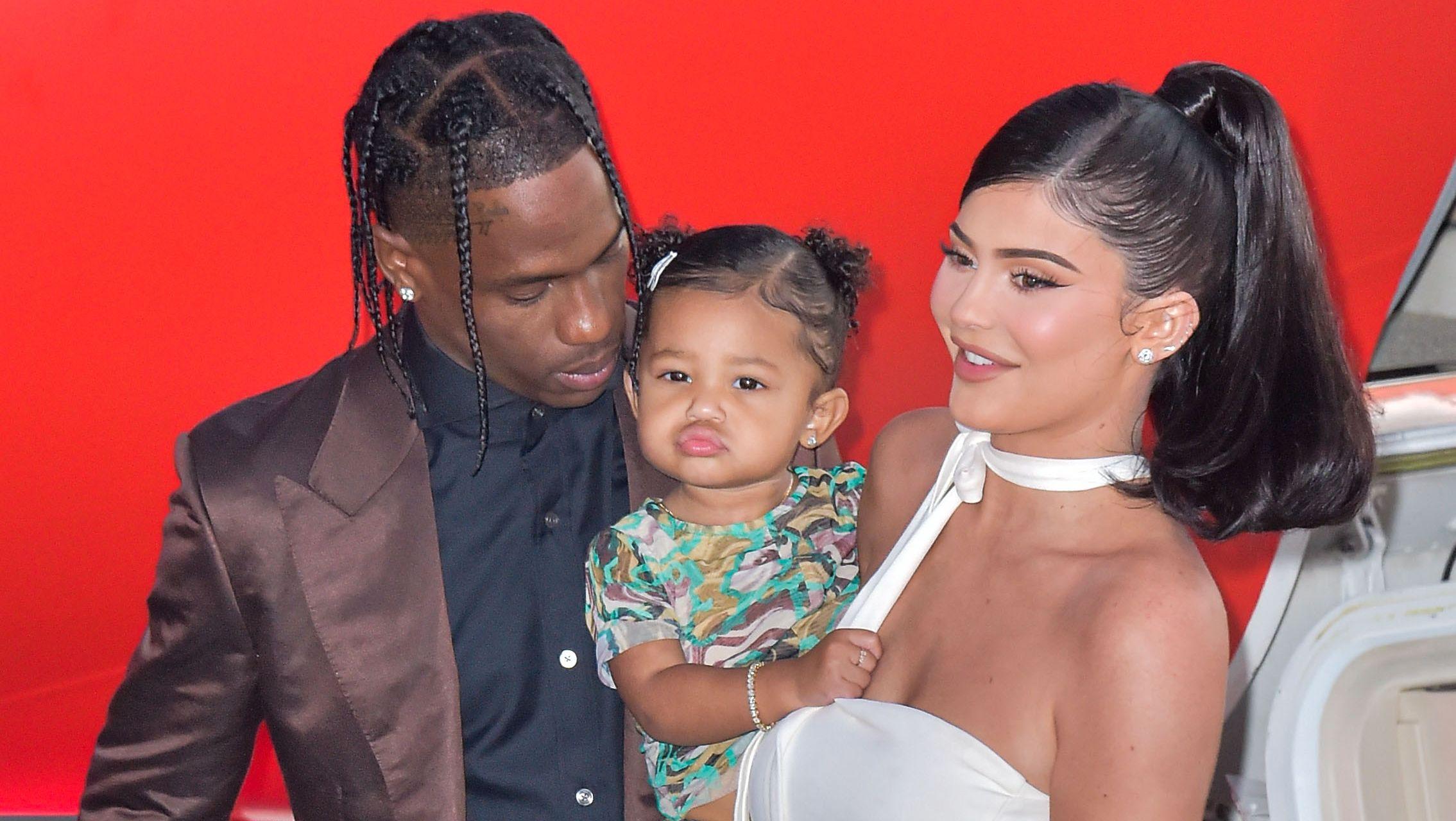 Stormi, fille de Kylie Jenner et Travis Scott