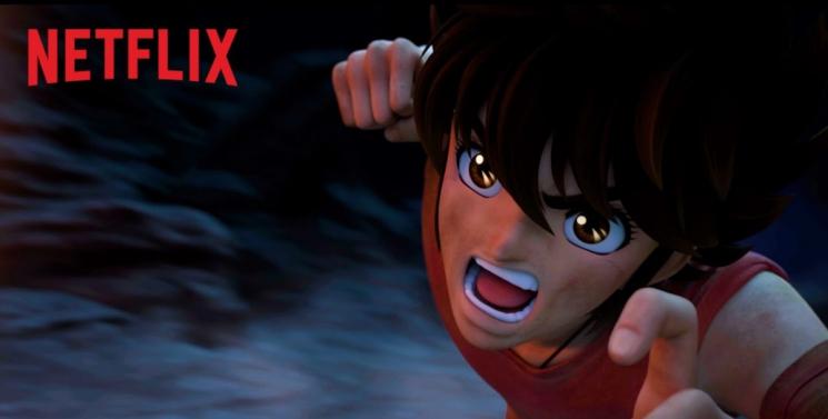 Saint Seiya par Netflix