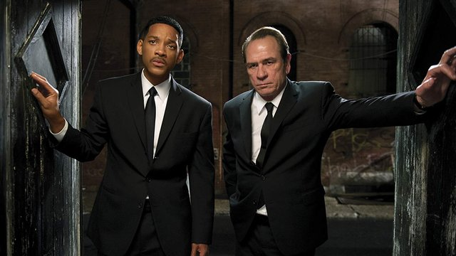 Will Smith et Tommy Lee Men In Black