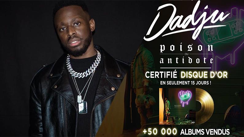 """Dadju album """"Poison ou Antidote"""""""