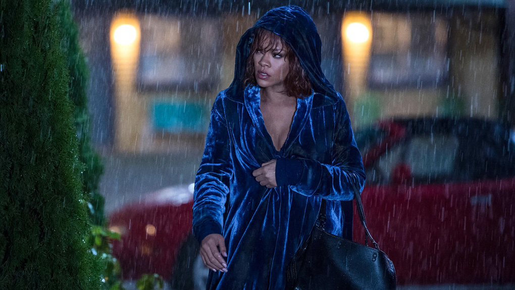 Rihanna dans le film Bates Motel