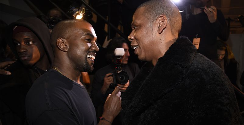 Jay Z et Kanye West