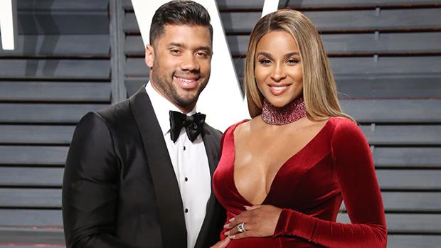 Ciara, enceinte et son mari