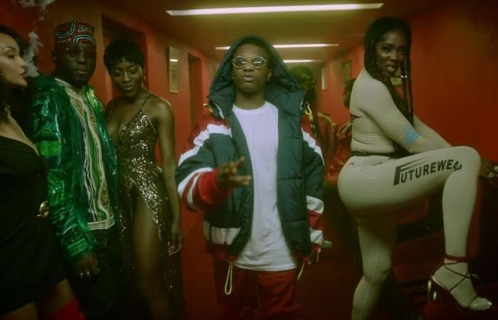 Image clip DJ Spinall - Dis Love (Official Video) ft. Wizkid, Tiwa Savage