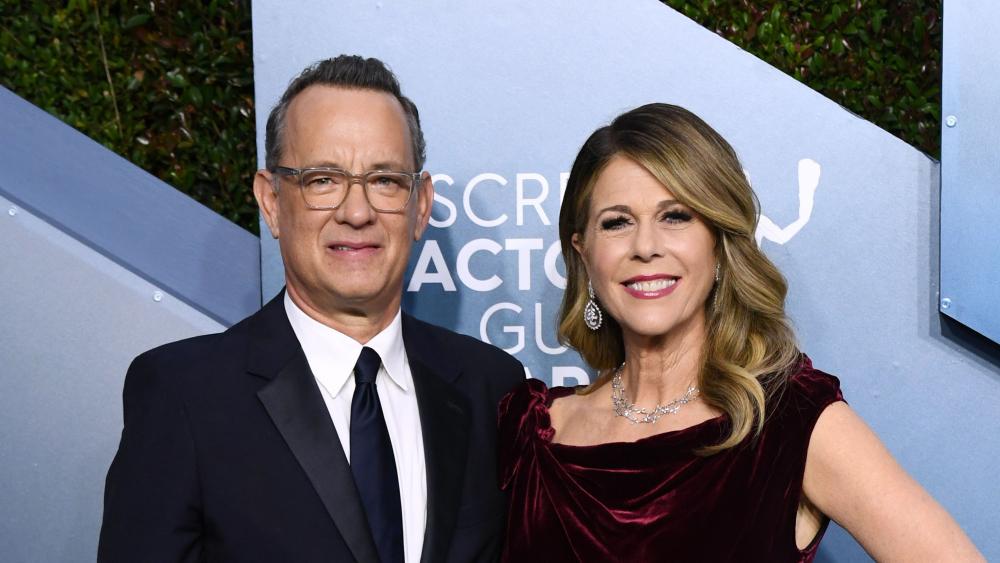 Tom Hanks et sa femme